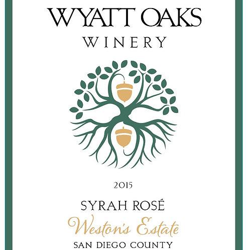 2015 Syrah Rose