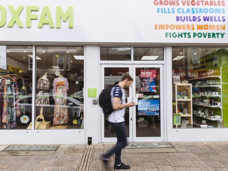 Oxfam Shop Liaison Required