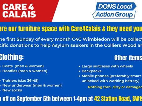 Local asylum seekers need your help!