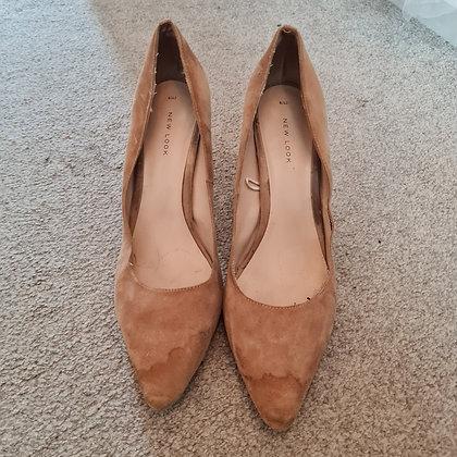 Suede Stiletto Heels