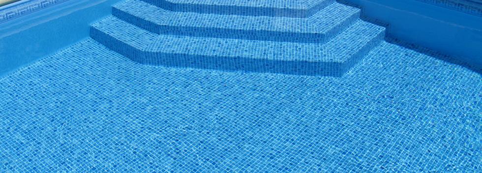 frise Mykonos liner persia bleu