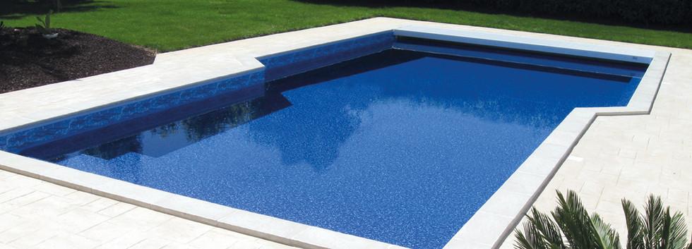 Liner Reflection + Frise Ibiza Bleu