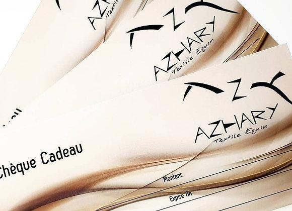 Chèque cadeau Azhary