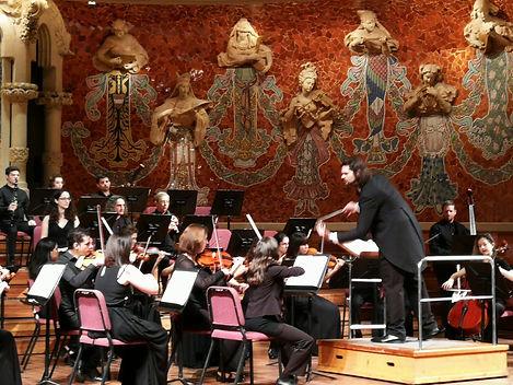 Maestro Roberto Laborda y OMBorquesta