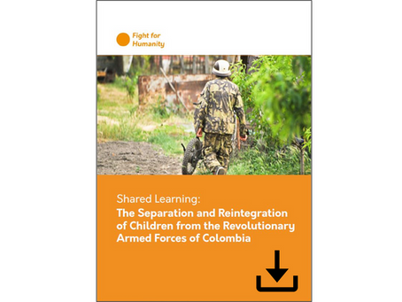 Shared Learning: the Separation and Reintegration of Children from the FARC-EP