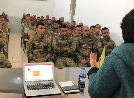 Syria: first information session with the SDF about the UN Action Plan on the protection of children