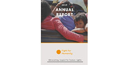 Annual report 2019: Advocating respect for human rights