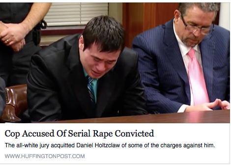Cop Accused of Serial Rape Convicted
