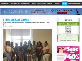 A Revolutionary Summer Featured in Baltimore Style Magazine!