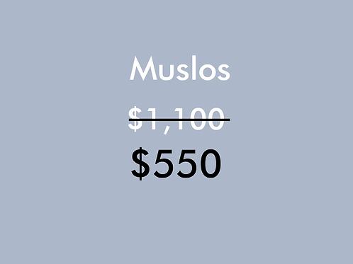 Muslos (1 Sesión)