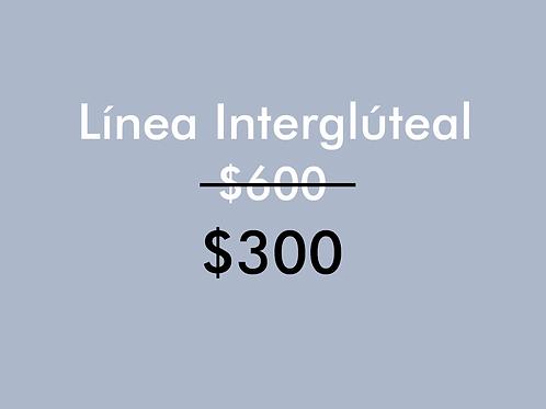 Línea Intergluteal (1 Sesión)