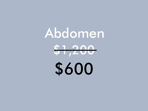 Abdomen (1 Sesión)