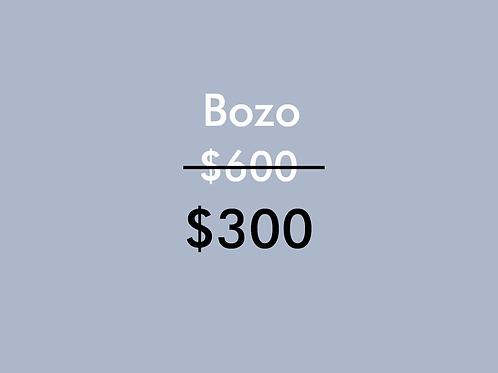 Bozo (1 Sesión)