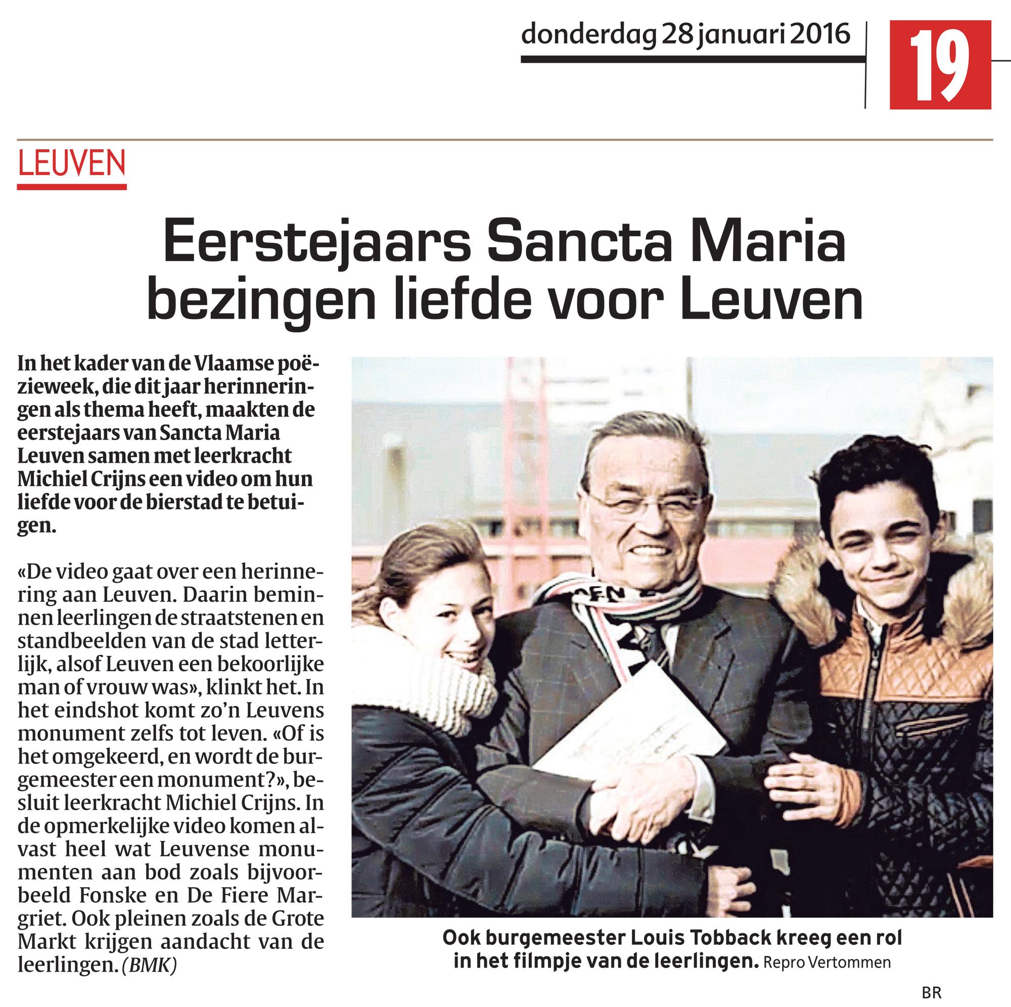 Monumentale liefde voor Leuven