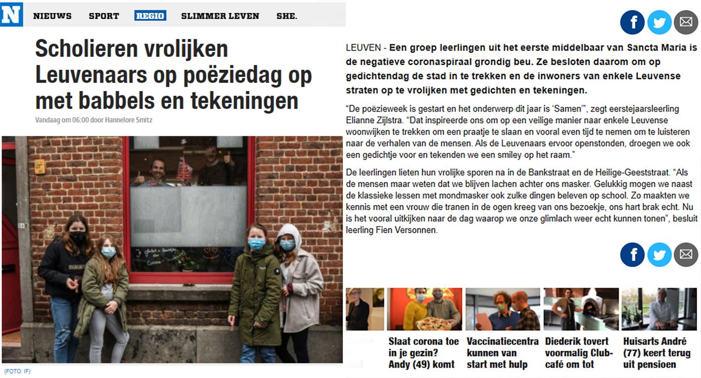 Het Nieuwsblad 30-01-2021