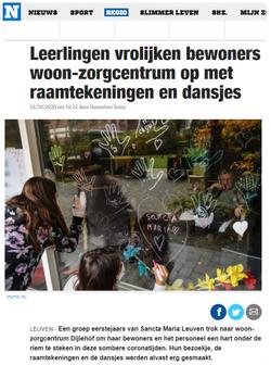 Het Nieuwsblad, 16-10-2020