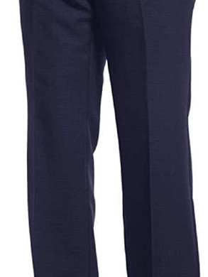 Oakman Extra Tall Flexi Waist Flat Front Trousers