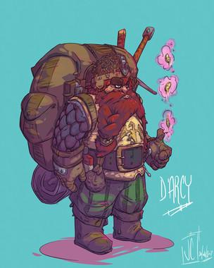 Commission D&D - D'Arcy