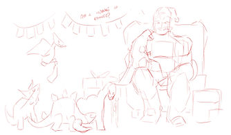 Christmas Kup - Roughs 2
