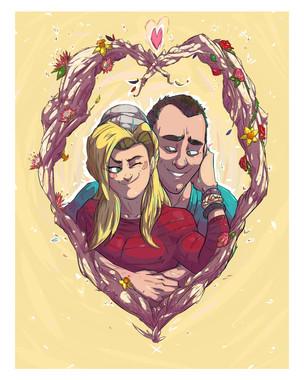 Commission - Seth & Clare