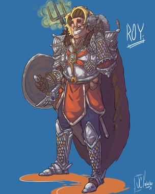 Commission D&D - Roy