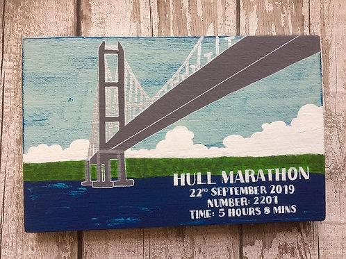 Runner/marathon enthusiast sign