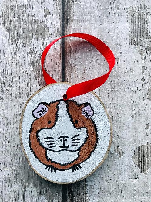 Personalised animal tree ornament