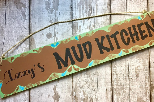 Mud Kitchen Signs
