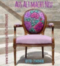Farbkonzept für Ihren Wohnraum: Angela Eckrodt hilft Ihnen Ihre alten Möbel aufzupeppen.