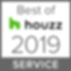 Angela Eckrodt hat in 2019 den HOUZZ Service Award erhalten.