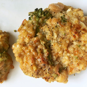 Quinoa Broccoli Bites