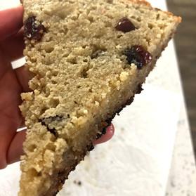 Grandma's Almond Flour Cranberry Bake