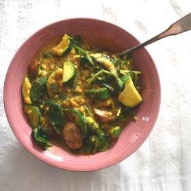 7 Minute Lentil Stew