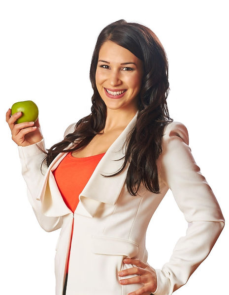 Gina B, corporate wellness speaker and registered dietitian
