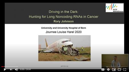 Presentation at Journée Louise Harel 2020 : « Dark Genome & Cancer »