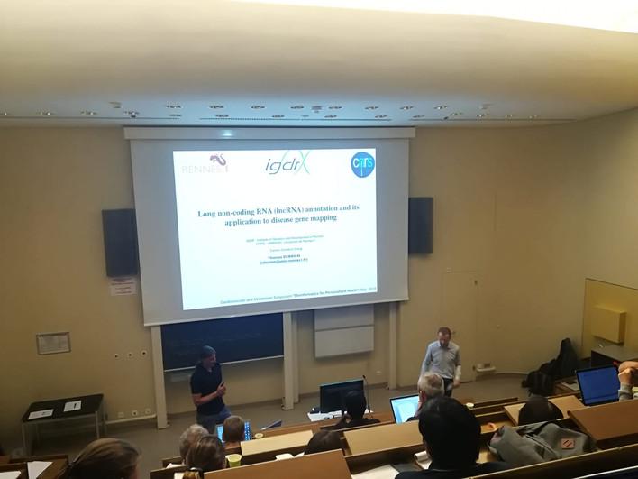 "Gold Lab organised the CVM Mini-Symposium ""Bioinformatics for Personalised Health"" at CHUV, Lausanne"