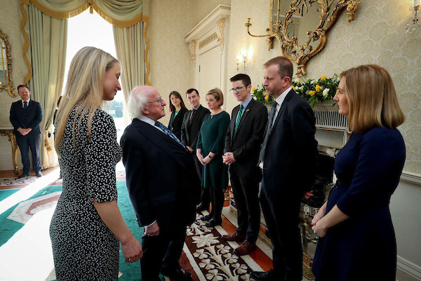 Future Research Leaders grant awarded by the President of Ireland
