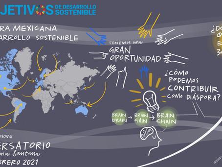 Diáspora mexicana y desarrollo sostenible: la chispa que enciende un movimiento