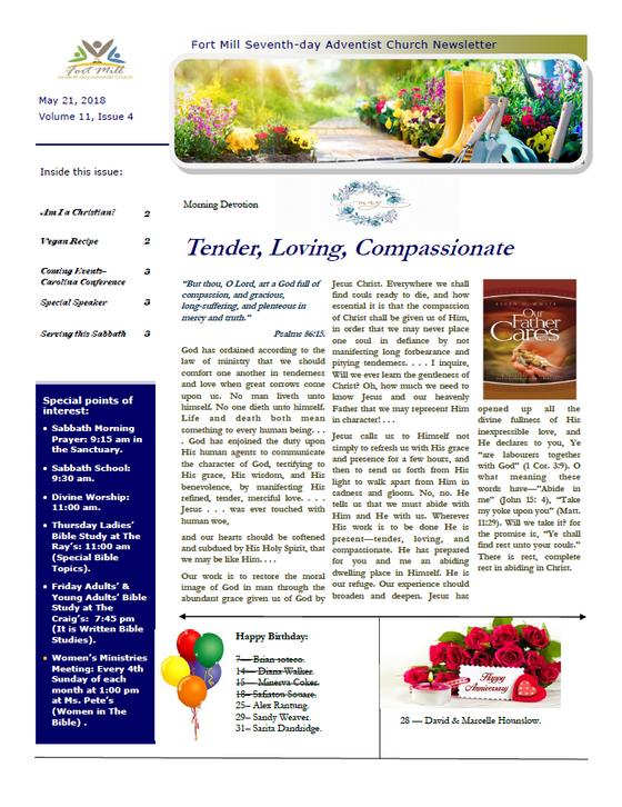 Tender, Loving, Compassionate