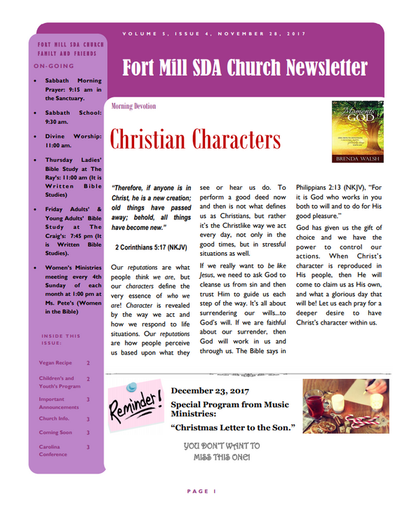 Christian Characters