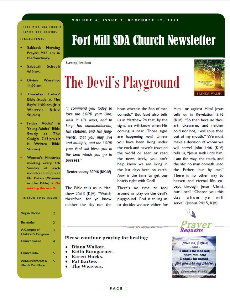 FMSDA News 12/13/2017