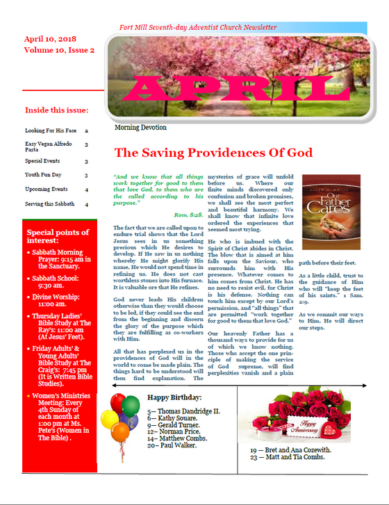 The Saving Providences Of God