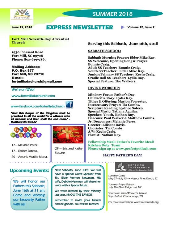 FMSDA EXPRESS NEWS