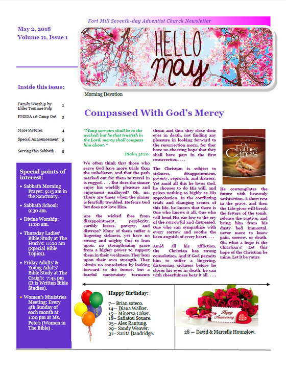Compassed With God's Mercy