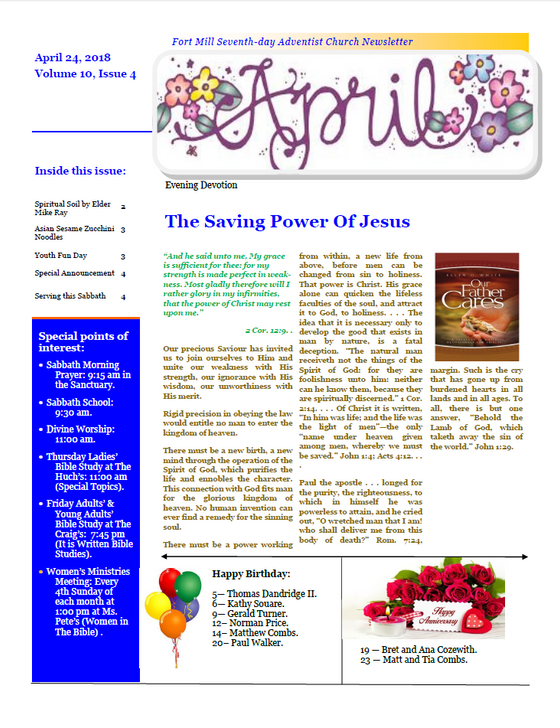 The Saving Power of Jesus