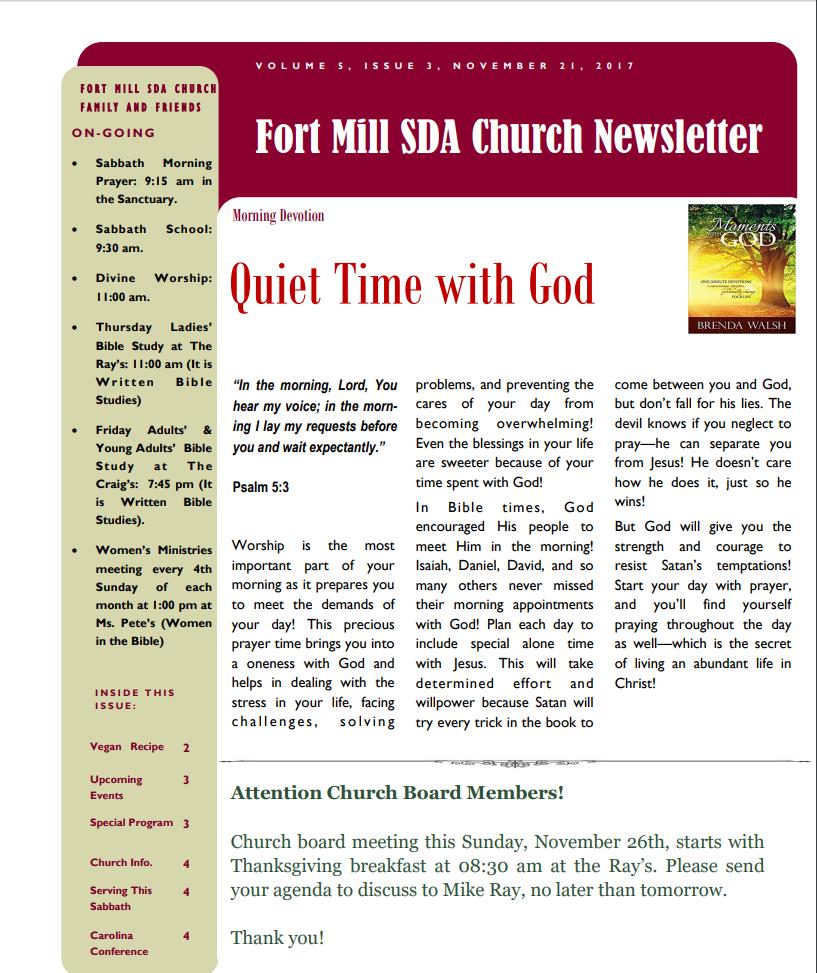 FMSDA News 11/21/2017
