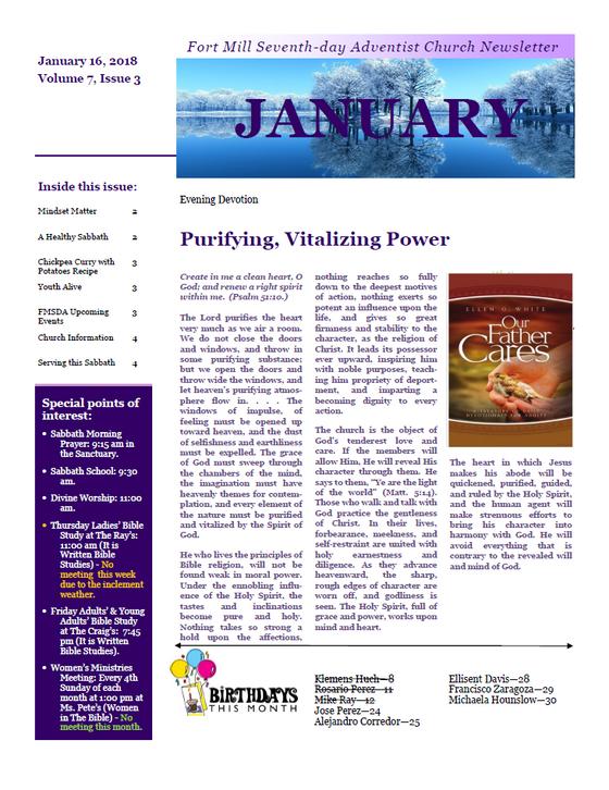 Purifying, Vitalizing Power