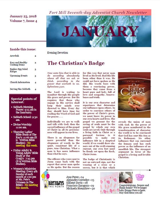 The Christian Badge