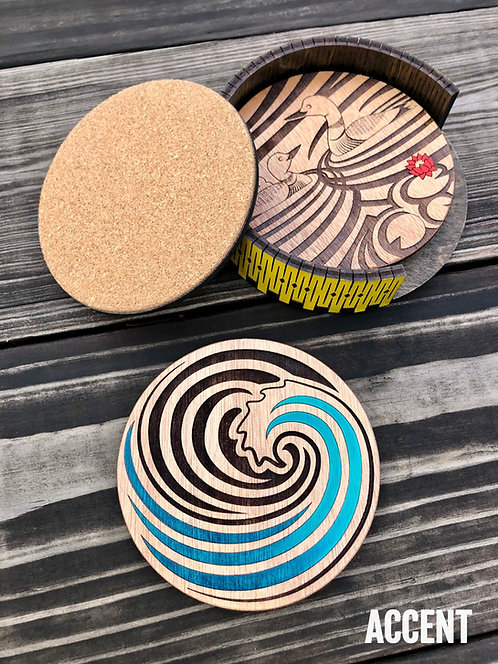 Accent Coasters