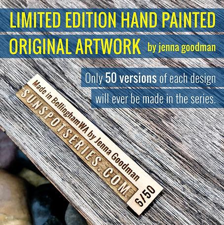 Limited Edition Art by Jenna Goodman